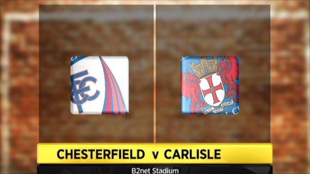 Chesterfield 4-1 Carlisle