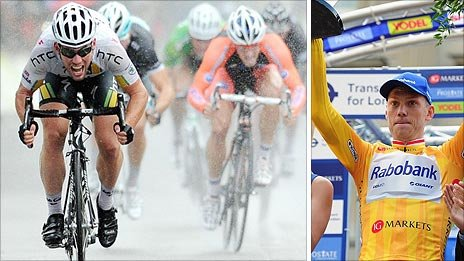 Cavendish won the stage while Boom triumphed overall