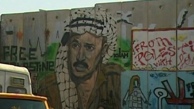 Palestinian mural