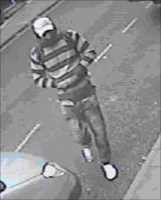 CCTV image of Spilsby robbery suspect