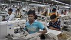 Bangladeshi clothes factory