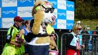 Runner dressed as dog, Great North Run