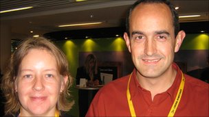 Helen and Stephen Mewes, Lib Dem party members