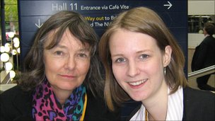 Wendy and Clare Mathys, Lib Dem party members
