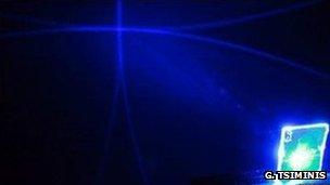 """""""Plastic laser"""""""