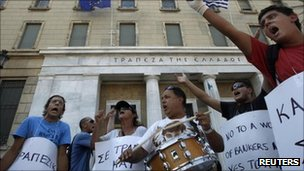 Protests in Athens 17 September