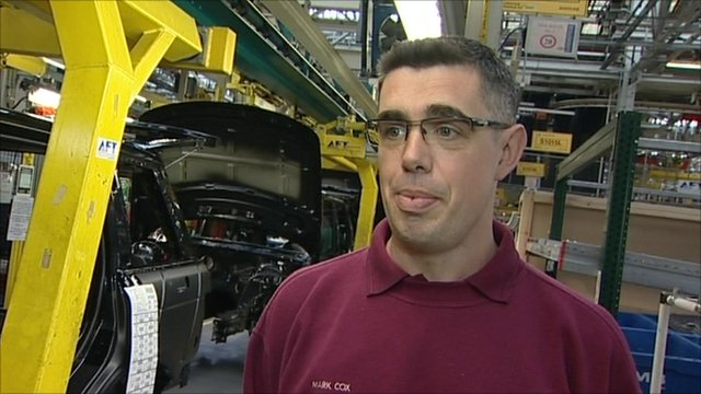 Mike Cox, JLR worker