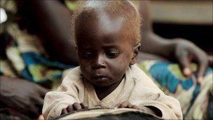 Infant in Uganda