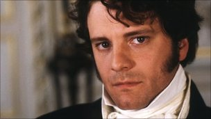 Colin Firth as Mr Darcy in 1995's Pride and Prejudice