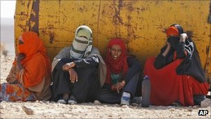 Somali refugees in Libya. Photo: September 2011