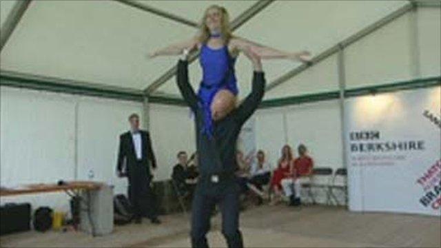 BBC Inside Out presenter Jon Cuthill and Mel Blacken