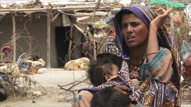 Flood victim speaks to BBC Urdu