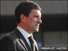 Liam Daish (pic courtesy of Ebbsfleet United)
