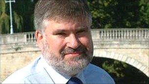 Bedford Mayor Dave Hodgson
