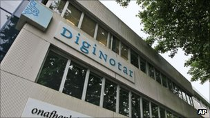 DigiNotar head office, AP