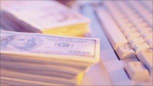 Money, keyboard