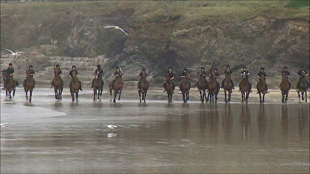 King's Troop holiday in Cornwall