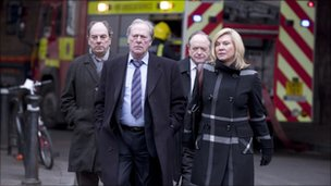 Alun Armstrong, Dennis Waterman, James Bolam and Amanda Redman