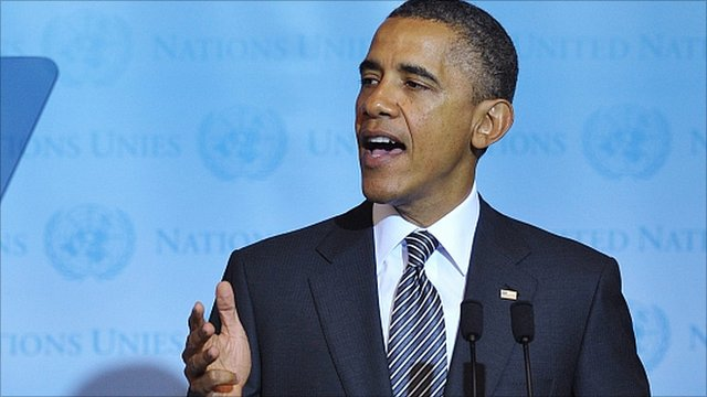 Barack Obama in New York