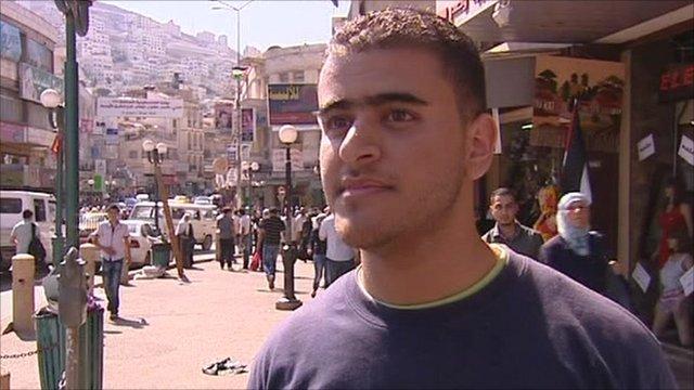 Palestinian in Nablus
