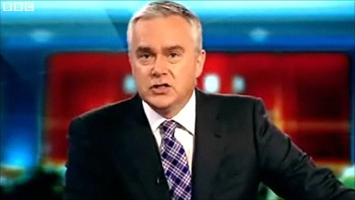 BBC newsreader Huw Edwards helps spread the message of School Report