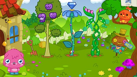 Moshi monsters screenshot