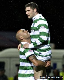 Daniel Majstorovic and Gary Hooper