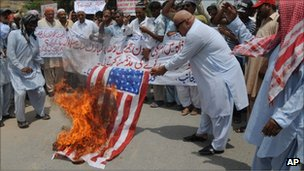 Pakistan protest against US drone attacks