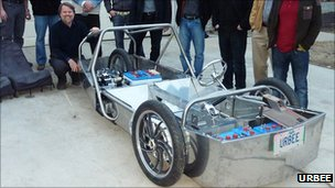 Urbee chassis