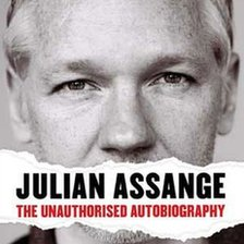 Cover of the Julian Assange autobiography