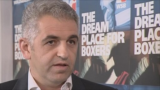 Chief Operating Officer of AIBA's World Series Boxing, Ivan Khodabakhsh