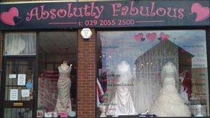 Absolutely Fabulous bridal shop