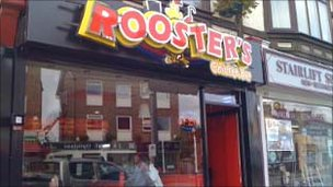 Roosters take-away