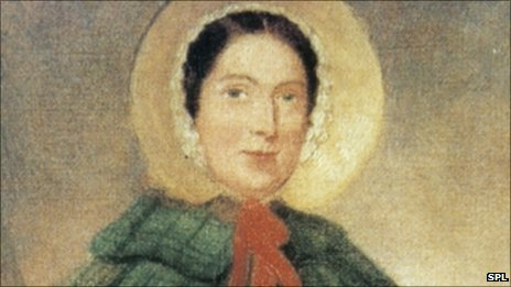 Portrait of Mary Anning from 1840