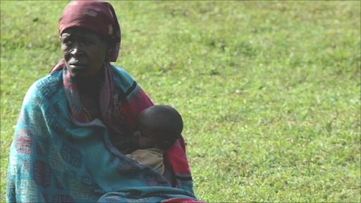 Ethiopian woman and child