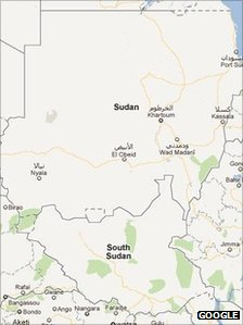 South Sudan Google Map
