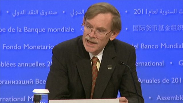 The president of the World Bank, Robert Zoellick,