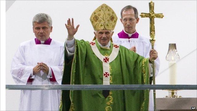 Pope in Berlin