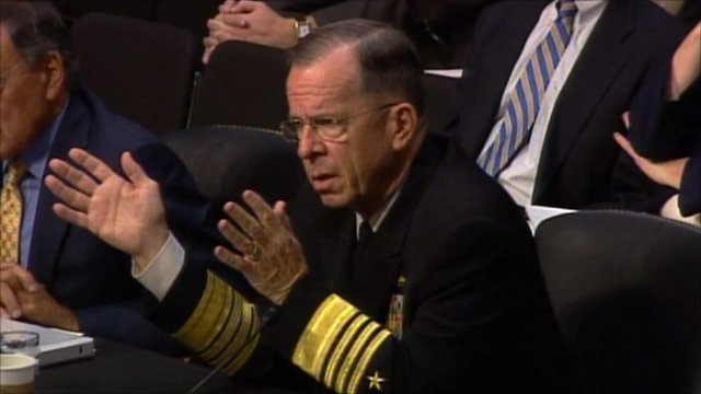 US Admiral Mike Mullen