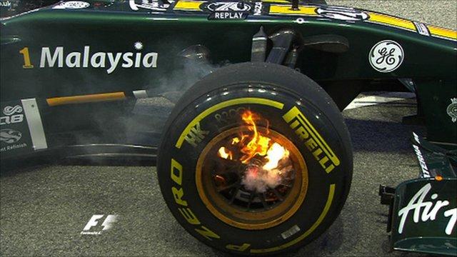 Heikki Kovalainen's Lotus
