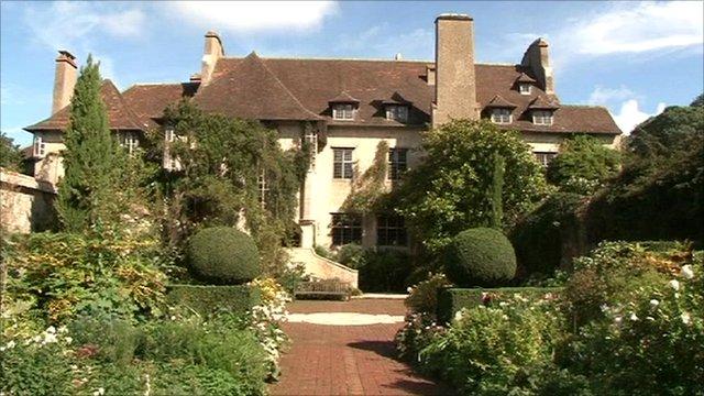 Le Bois des Moutiers country house in Normandy
