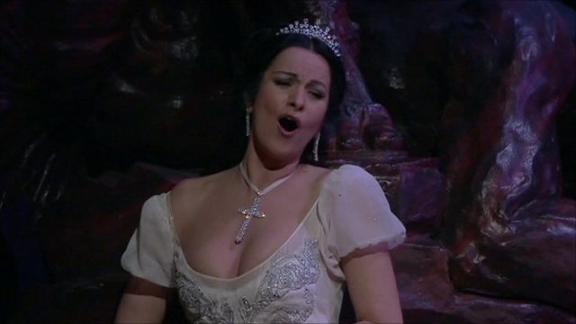 Angela Gheorghiu in Tosca
