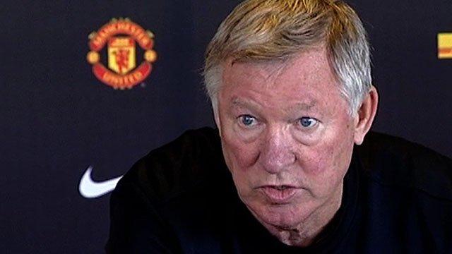 Man Utd manager Sir Alex Ferguson