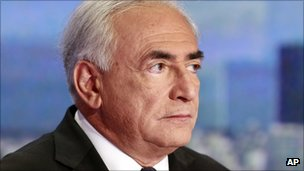 Dominique Strauss-Kahn on French TV, 18 September