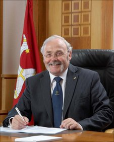 The current Chief Minister, Tony Brown will not stand in the General Election 2011