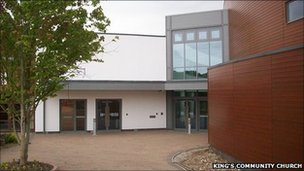 New auditorium at King's Community Church, Hedge End