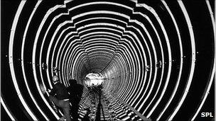 Building Cern image 1974