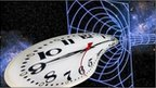 Conceptual image of time warp