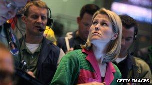 A market trader