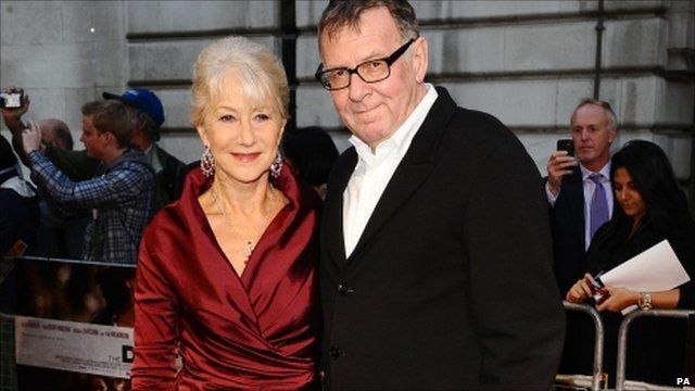 Tom Wilkinson (r) stars with Helen Mirren in The Debt